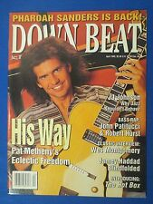 DOWN BEAT MAGAZINE APRIL 1995 PAT METHENY J J JOHNSON JOHN PATITUCCI ROB HURST