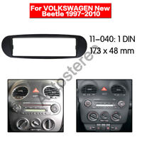 VW Beetle Single DIN Car CD Stereo Radio Facia Fascia Surround Adaptor Plate