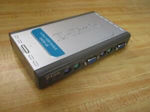 D-Link BDKVM4K 4-Port KVM Switch DKVM-4K