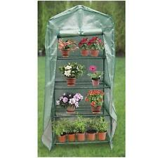 "NEW Quality 4 tier Mini 63"" Portable Greenhouse  w/ Shelves Plants Green House"