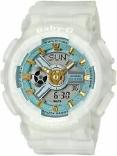 Casio G-Shock Baby-G BA110SC-7A Analog-Digital Skeleton Semi-Transparent White R