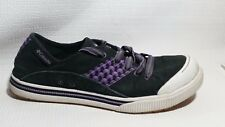 Columbia Joely Casual Sneakers 2383-010 Black Purple Womens 9 Med Classic Shoes