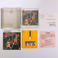 Dirty Pair Project Eden Famicom Disk System FC NES DK Japan Game