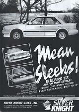 Mean Streets Bluebird T12 1987 Magazine Advert #3826