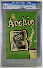 ARCHIE Your Official Store Club Magazine #nn 8/49 CGC 9.0 1949 Archie cover RARE