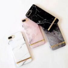 Shockproof Tough Marble Gel Soft iPhone 6S 8 7 Plus Xs Soft Case Cover for Apple