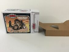 brand new star wars empire strikes back dagobah action playset box + inserts 2nd