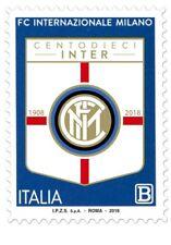 REP. ITALIA 110° ANN. INTER  MILAN calcio  FOOTBALL SOCCER MINT ** MNH