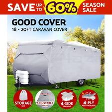 18-20ft Caravan Cover Campervan 4 Layer Heavy Duty UV Carry bag Waterproof