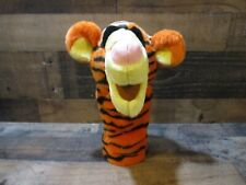 Vintage walt disney winnie the pooh tigger hand puppet new please read nr