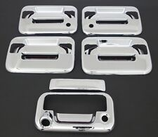 2004-2014 FORD F150 4DR CHROME DOOR HANDLE+TAILGATE COVER+NO KEYPAD+KH+CAM