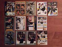 Jaromir Jagr (13) Card Lot Various Years -  Pittsburgh Penguins Future HOF