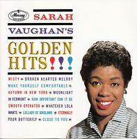 SARAH VAUGHAN Golden Hits CD    SirH70