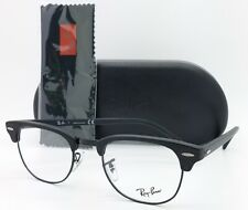 NEW Rayban Rx Frame Clubmaster RX5154 2077 49mm Black AUTHENTIC Classic