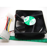 Computer Case Cooler 12V 8CM 80MM PC CPU Cooling Cooler Fan GBM