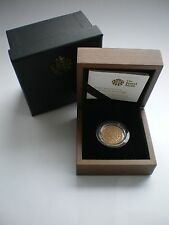 RARE 1989 ROYAL MINT TUDOR ROSE 500TH ANNIV GOLD PROOF SOVEREIGN With box & COA.