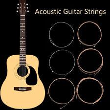 6pcs Acoustic Guitar Strings Set Alloy Steel String Learner Practicing 150xl 010