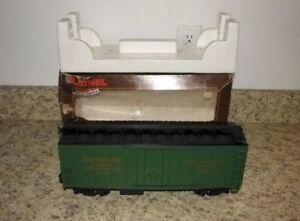 Lionel G Scale Seaboard Reefer Green Boxcar Train - Made in America! 8-87105