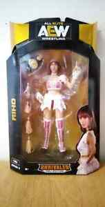 AEW UNRIVALED SERIES 3 RIHO FIGURE MOC