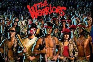 THE WARRIORS - GANG MOVIE POSTER 24x36