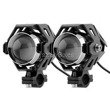 2pcs LED Headlight Spot Light For Honda Shadow Spirit Sabre RS 750 1100 VLX 600