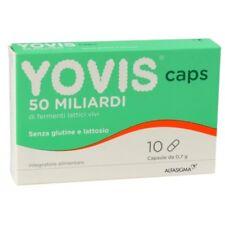 YOVIS 10 Caps 50 miliardi di fermenti lattici vivi senza glutine e lattosio