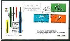ITALIA REP. - 1962 - Campionati mondiali di ciclismo su FDC - (H)