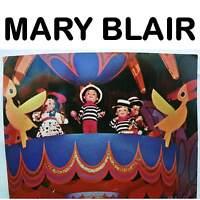 VINTAGE WALT DISNEY MARY BLAIR IT'S A SMALL WORLD POSTCARD