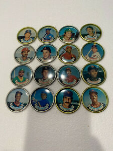 1987 Topps Baseball Coins - NM Condition