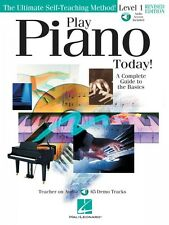 Play Piano Today Level 1 Updated /Revised Edition Instructional Book 000842019