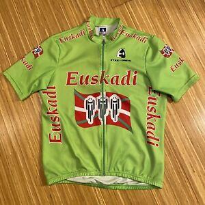 Etxeondo Full Zip Cycling Jersey Size XL