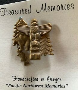 "Treasured Memories - ""Pacific Northwest""  - Swarovski Austrian Crystals - NEW!"
