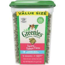 Greenies Feline Dental Treats Savory Salmon Flavor For Kittens 9.75 oz