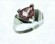 Rose Quarts Sterling Silver Lady,s Ring RSS,471