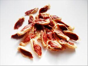 1kg of doggy chews - Duck Wrapped Dried Rabbit Ears - snacks, chews, treats