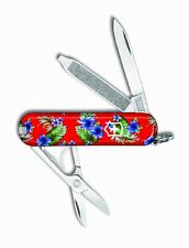 Victorinox Swiss Army Key Chain Knife Ltd Ed - Hawaiian Shirt - Free Shipping