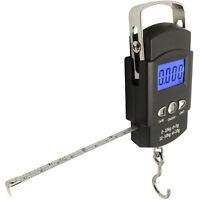 50kg Digital Travel Fish Luggage Postal Hanging Hook Electronic Weighing Scale