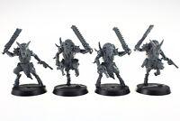 Warhammer 40k Blackstone Fortress Chaos Beastmen set of 4 miniatures