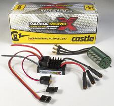 Castle Creations CSE010014701 1/18 MAMBA Micro X ESC w/ 4100KV Motor 010-0147-01