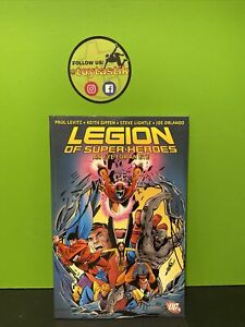 DC Comics Trade Paperback Legion of Super-Heroes An Eye for an Eye Graphic Novel