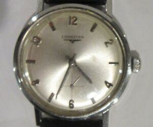 Longines 33 MM Stainless Steel Sub Second Hand Watch 1960's