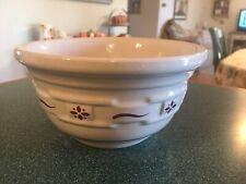 Longaberger Pottery Bowl 6.5� Wide Classic Red Euc