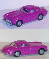 Siku Super 1073 Mercedes-Benz 300 SL W 198 verkehrspurpur ca. 1:55 Sondermodell