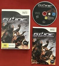 G.I. Joe: The Rise Of Cobra Game for Nintendo Wii / Wii U PAL complete