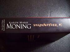 SHADOWFEVER BY KAREN MARIE MONING (2011, HARDCOVER)