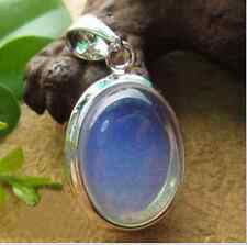 New Gemstone Healing Chakra Reiki Opal Opalite Stone Pendant Necklace AAA