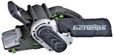 Genesis Belt Sander 3 in. x 21 in. 8 Amp Single Lever Flat Side Variable Speed