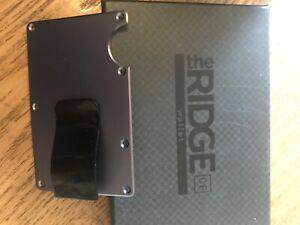 Ridgewallet Slim Blocking STYLE MONEY CLIP - Gunmetal