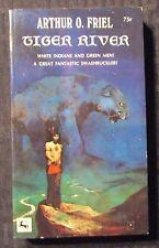 1971 Tiger River by Arthur Friel Fn+ 6.5 1st Centaur Paperback Jeff Jones Cover