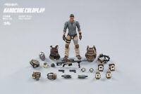 Stock JOYTOY 82011071 1/18  Desert Skull Field Squad Figure New Toy